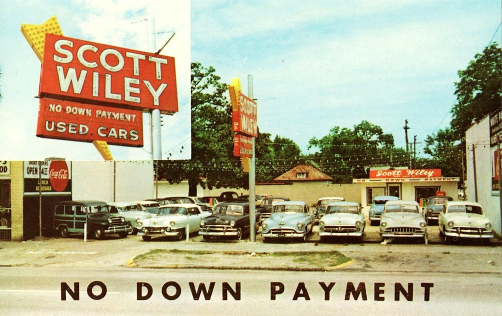 Used Car Dealerships In Jacksonville Fl >> Scott Wiley Used Cars Jacksonville Fl 1950s 1424 Main S