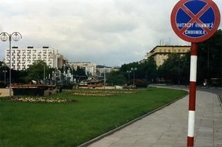 gdynia street sign Poland