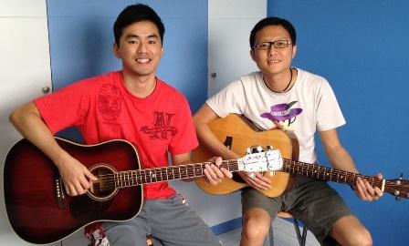 Adult guitar lessons Singapore Joo Peng