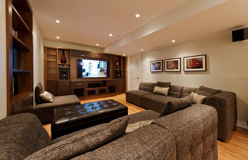Home Theatre Finished Basement | by finishedbasement.ca