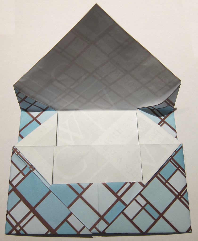 Easy Square Origami Envelope — Artist Lydia Makepeace | 1023x840