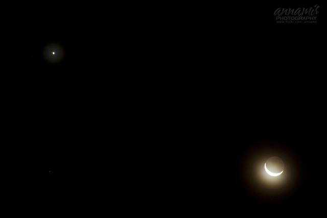 Venus & Moon (26th January 2012) - [Unedited]