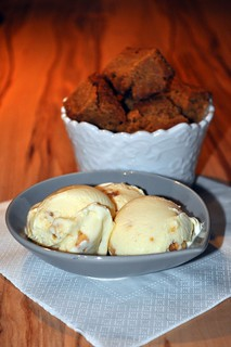 [The Secret Recipe Club] - Butterscotch Brownies and Salted Caramel Ice Cream | by - Caillean -