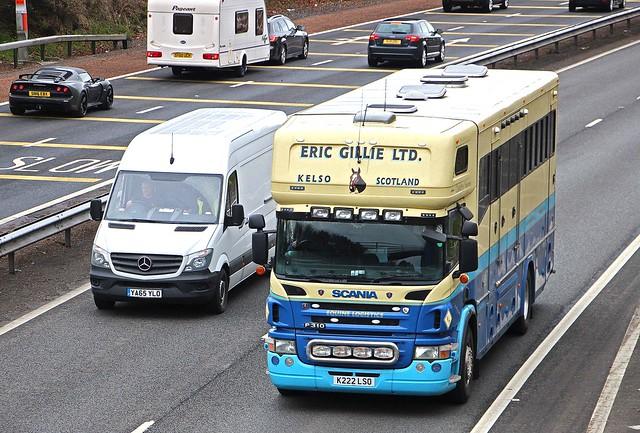 SCANIA P310 - ERIC GILLIE LTD Kelso Scottish Borders