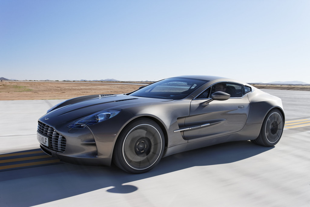 Aston Martin One 77 Launches At Virgin Galactic S Spacepor Flickr