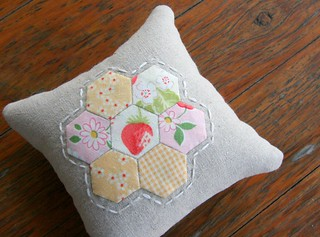 Another hexie pincushion