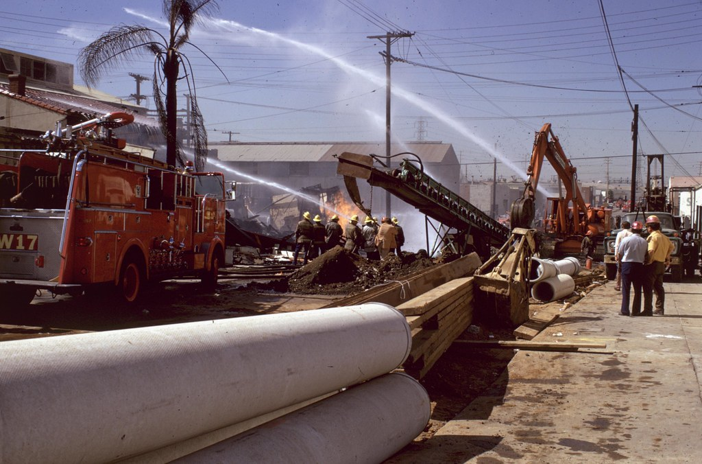October 1972 Natural Gas Explosion FS 17 and 2 | Union Pacif