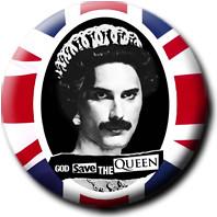 Botton Freddie Mercury -