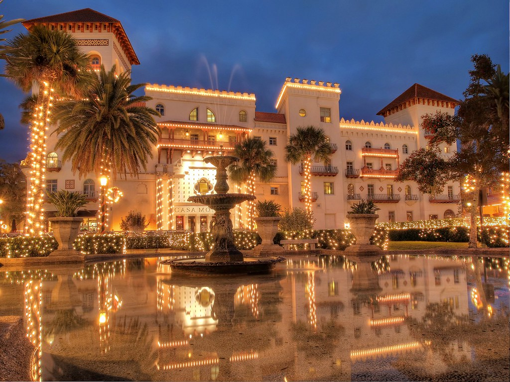 Casa Monica Hotel, St. Augustine - Reflections of 2011