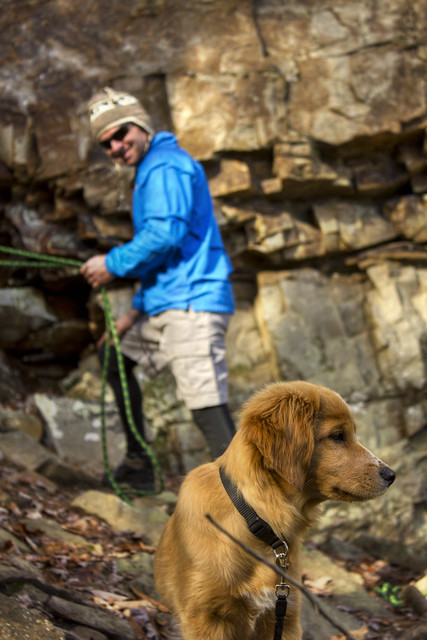 Alfred and Stella Crabtree, Copperhead Rock, Fall Creek Falls State Park, Van Buren Co, TN