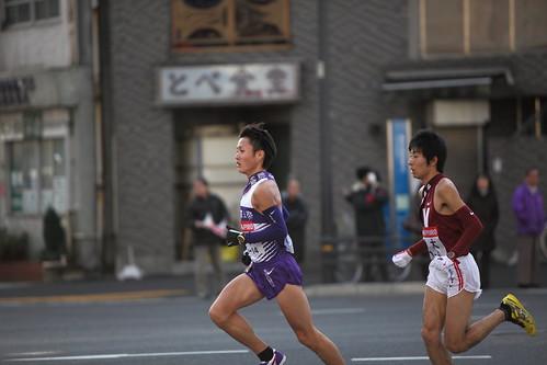 駒澤大学 窪田忍選手 & 早稲田大学 前田悠貴選手 #7 | by Hisashi Photos