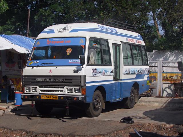 Swaraj Mazda T3500 bus