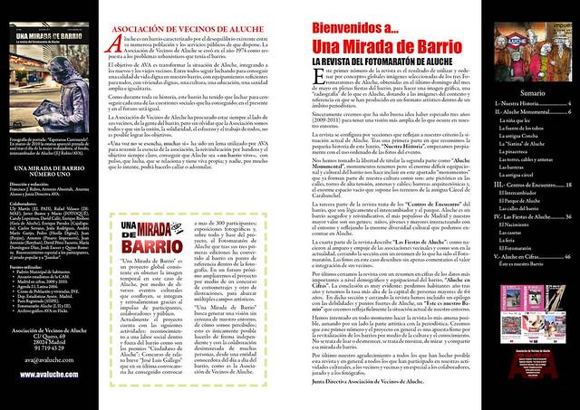 La revista del Fotomaratón: ejemplos.