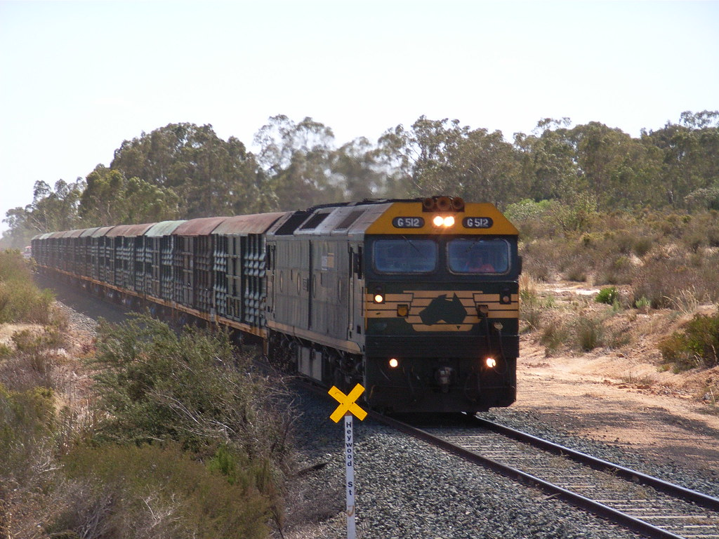 G512 is on 9084 instead of the usuall A powering through White Hills by bukk05