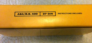 Tri-X Pan 120 film box - 6 | by redspotted