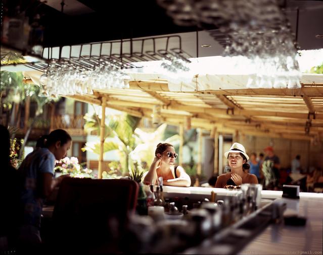 [Film 4x5] Red Cocobar, Boracay, Philippines