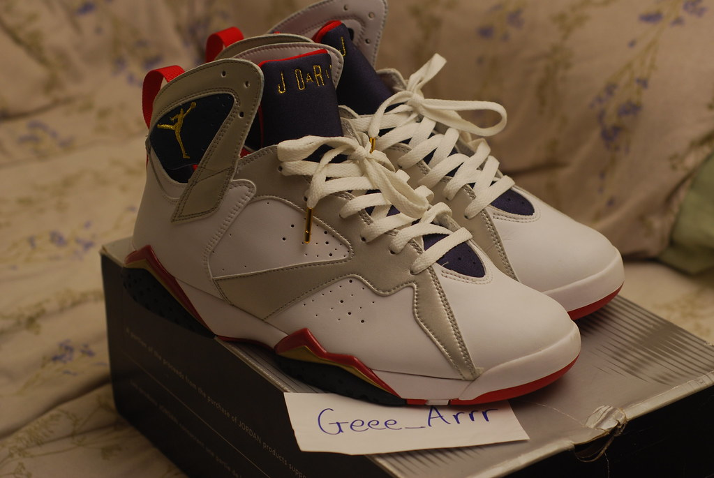 timeless design fbecc 48858 2004 Jordan 7 'Olympic' | jayraudi | Flickr