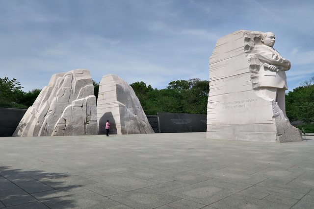 Standing  out from the Shadows of Despair, Martin Luther King Memorial