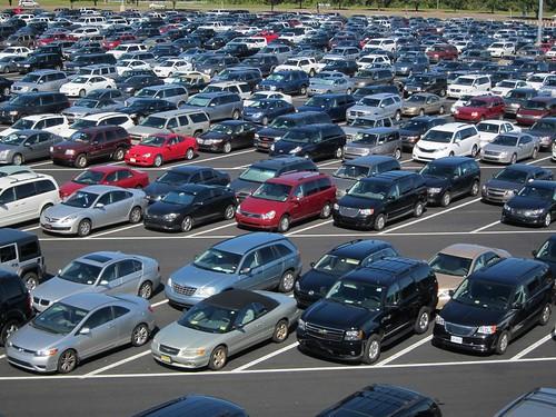 Epcot Parking Lot