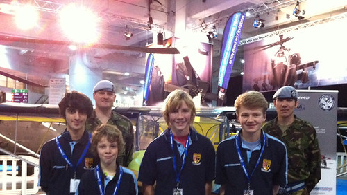 Boeing/RAeS Schools Build-a-Plane Challenge students at British Military Tournament | by The Boeing Company