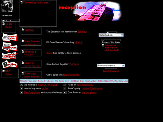 Radio 1 website, c.1998 | by radio1interactive