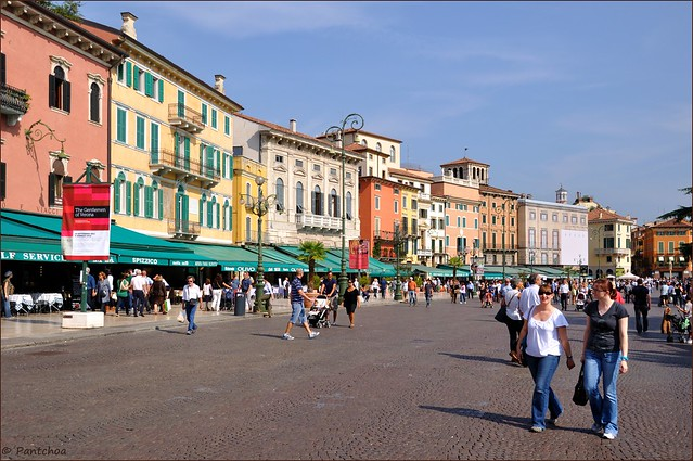 Verona : Piazza Brà  -  Explore   #413