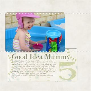 December Daily: Day 5 Good Idea Mummy