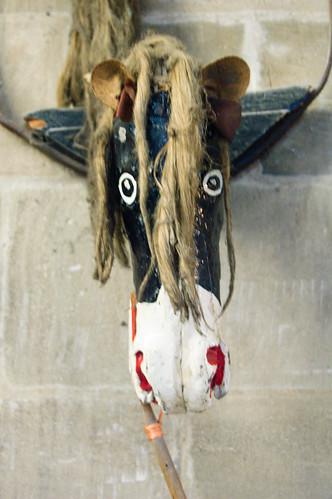 Horn Dance Horse Head