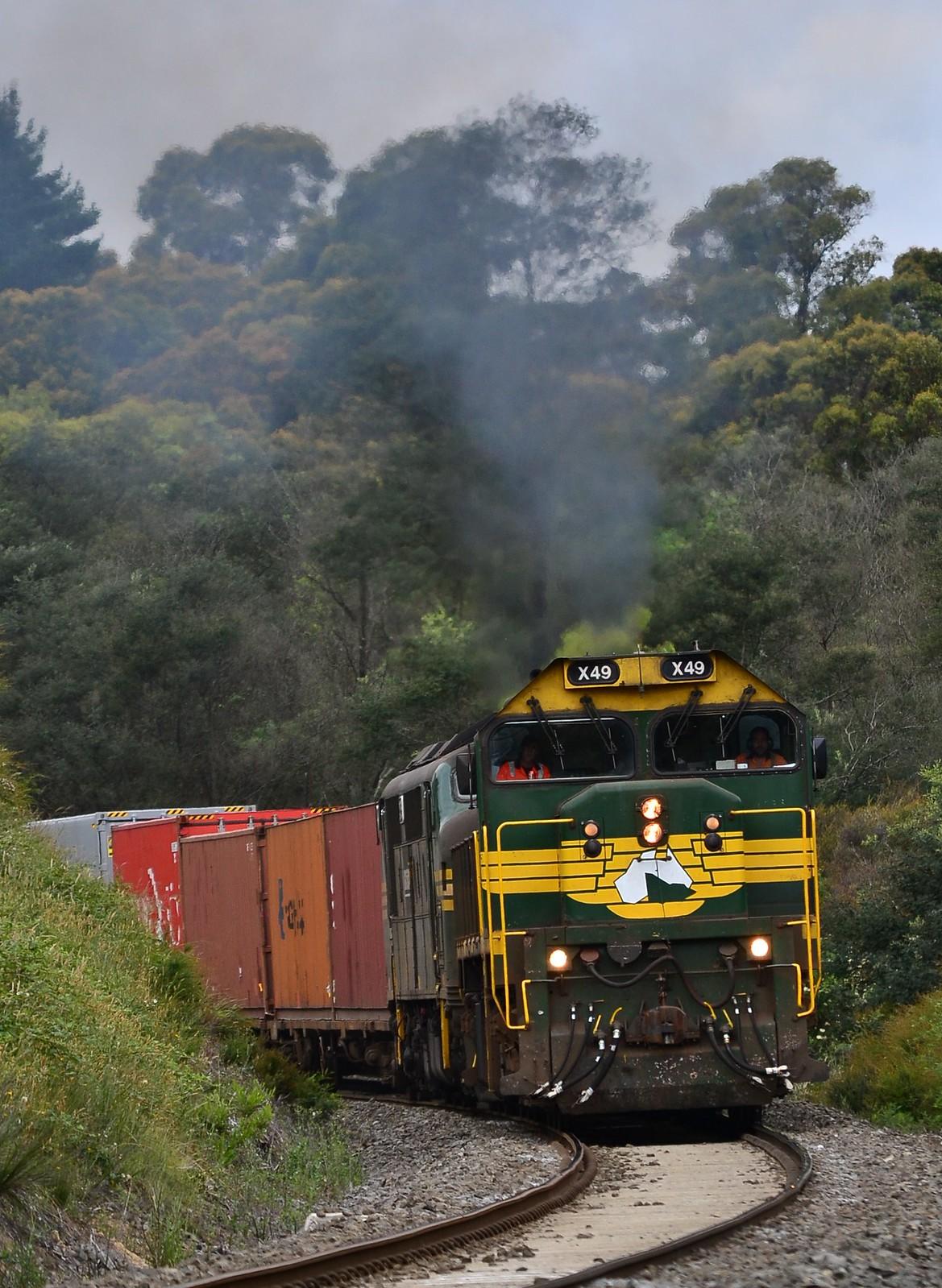 Paper train by Jarle D