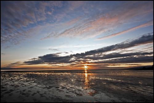 light sunset beautiful clouds reflections scotland solway sigma1020 powfoot