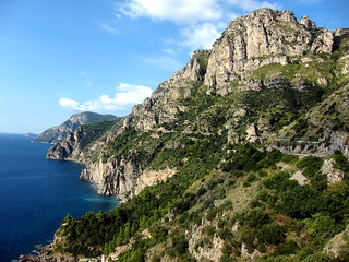 Amalfi Coast, Road to Sorrento   by Wade 48