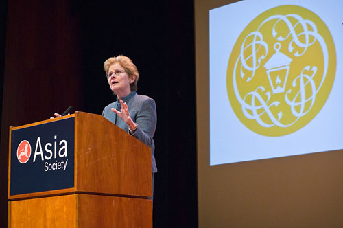 President of Bryn Mawr College speaks at Asia Society
