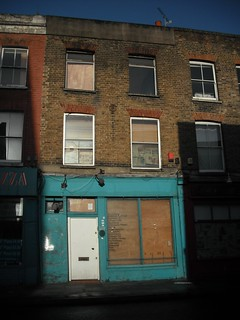 Empty shop and house (gone now) | by lucyrfisher