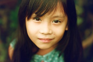 The little girl | by Pison Jaujip