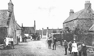 Findhorn Street Scene | by Findhorn Heritage - Moray Connections