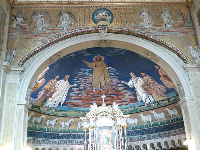 Rome, Basilica SS Cosmas & Damian