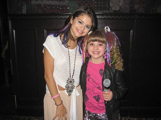 12-0120 Selena Gomez Unicef Concert at House of Blues-PIper interviewing Selena Gomez at House of Blues in Hollywood | by PipersPicksTV