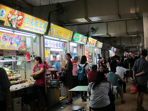 Old Airport Road Singapore Hawker Center | by One More Bite Blog