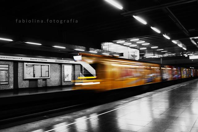 Metro Estación Universidad Católica
