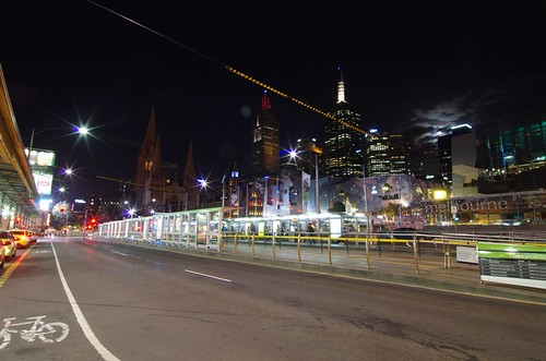 Federation Square at night, Melbourne | by elpolodiablo