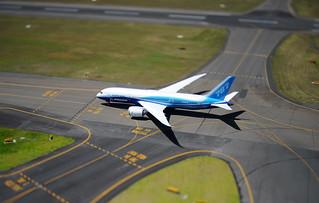 Boeing 787 Dreamliner in Sydney   by Jetstar Airways