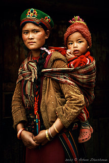 Tamang people. Mother and child. | by zhushman