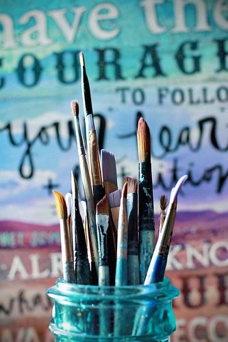 brushes | by Mae Chevrette