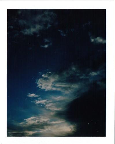 sunset sky polaroid340 fujifilmfp100c