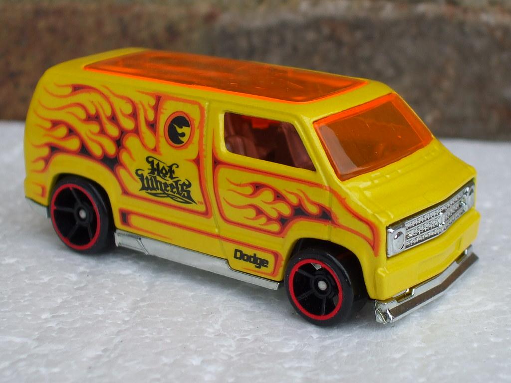 Hot Wheels Custom 77 Dodge Van Flamed Hot Wheels Custom 77 Flickr