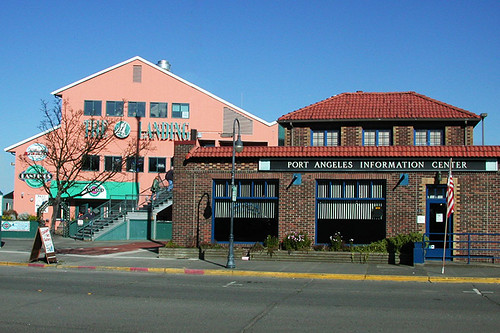 Port Angeles Information Center, Port Angeles, Olympic Peninsula, Washington, USA
