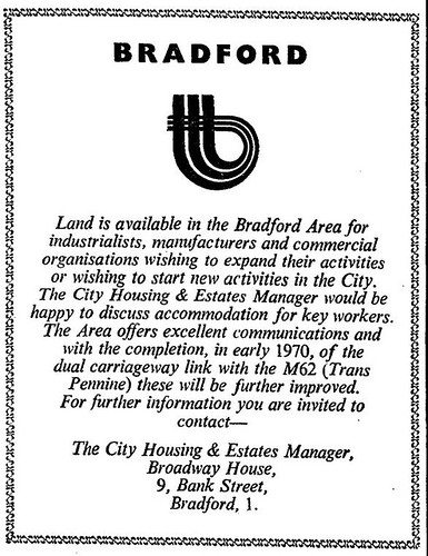 Land available in Bradford (advert) | by Bradford Timeline
