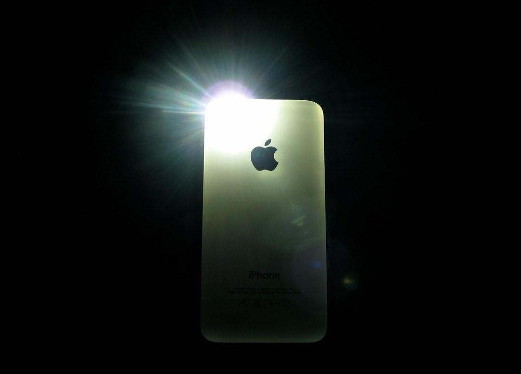 smartphone flash light