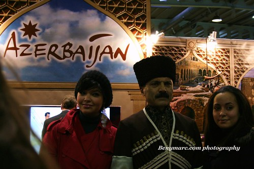 The new stand of Azerbaijan in Bazar Luxembourg | by Marc Ben Fatma - visit sophia.lu and like my FB pa