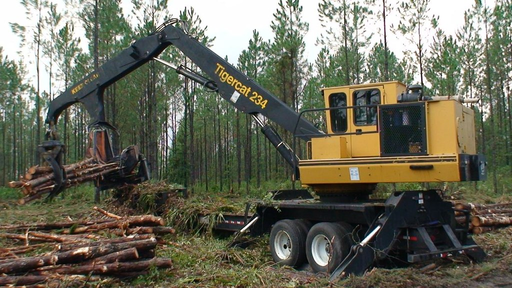 2007 Tigercat 234 Loader with CTR 426 Delimber at Forestry